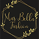 Mas Bella Fashion logo mobile