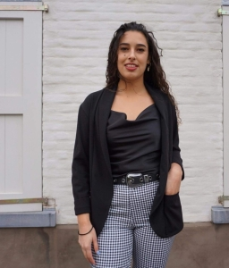 Black & white pants